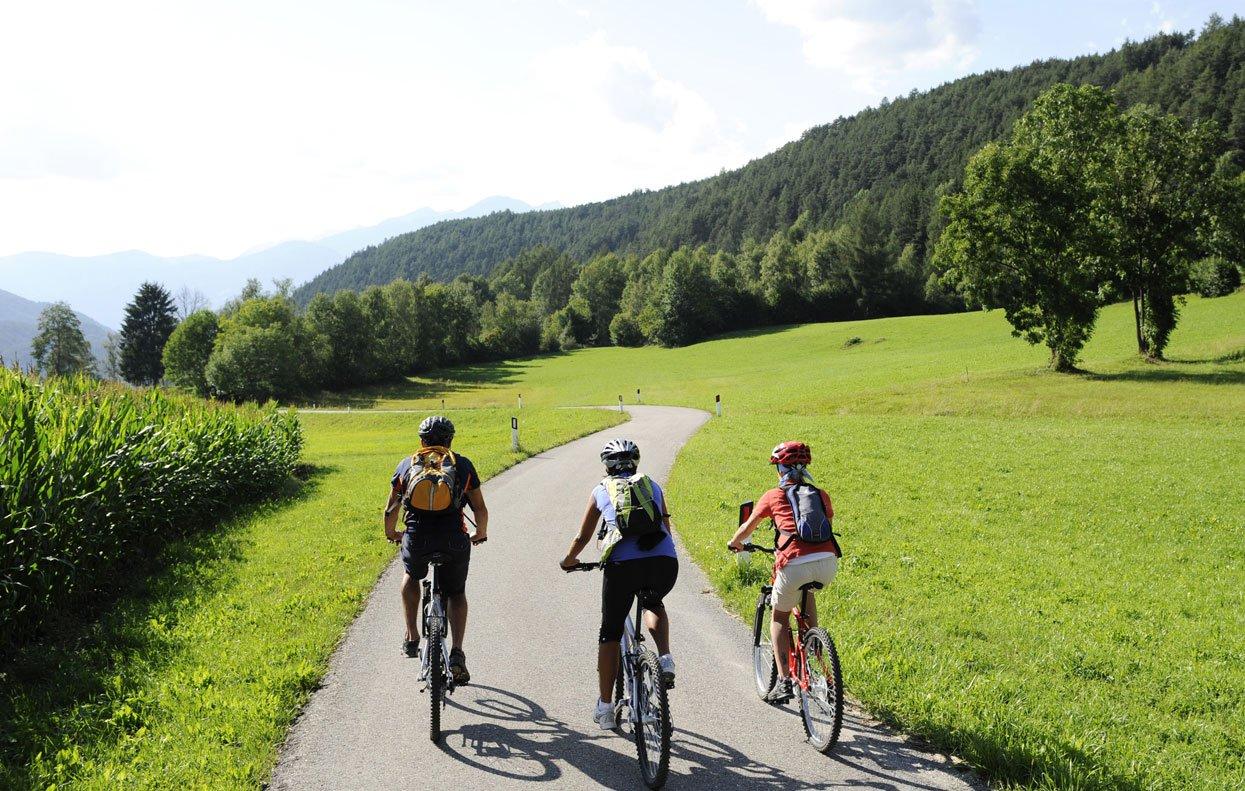 Von Olang nach Lienz: eine Radtour für Genießer