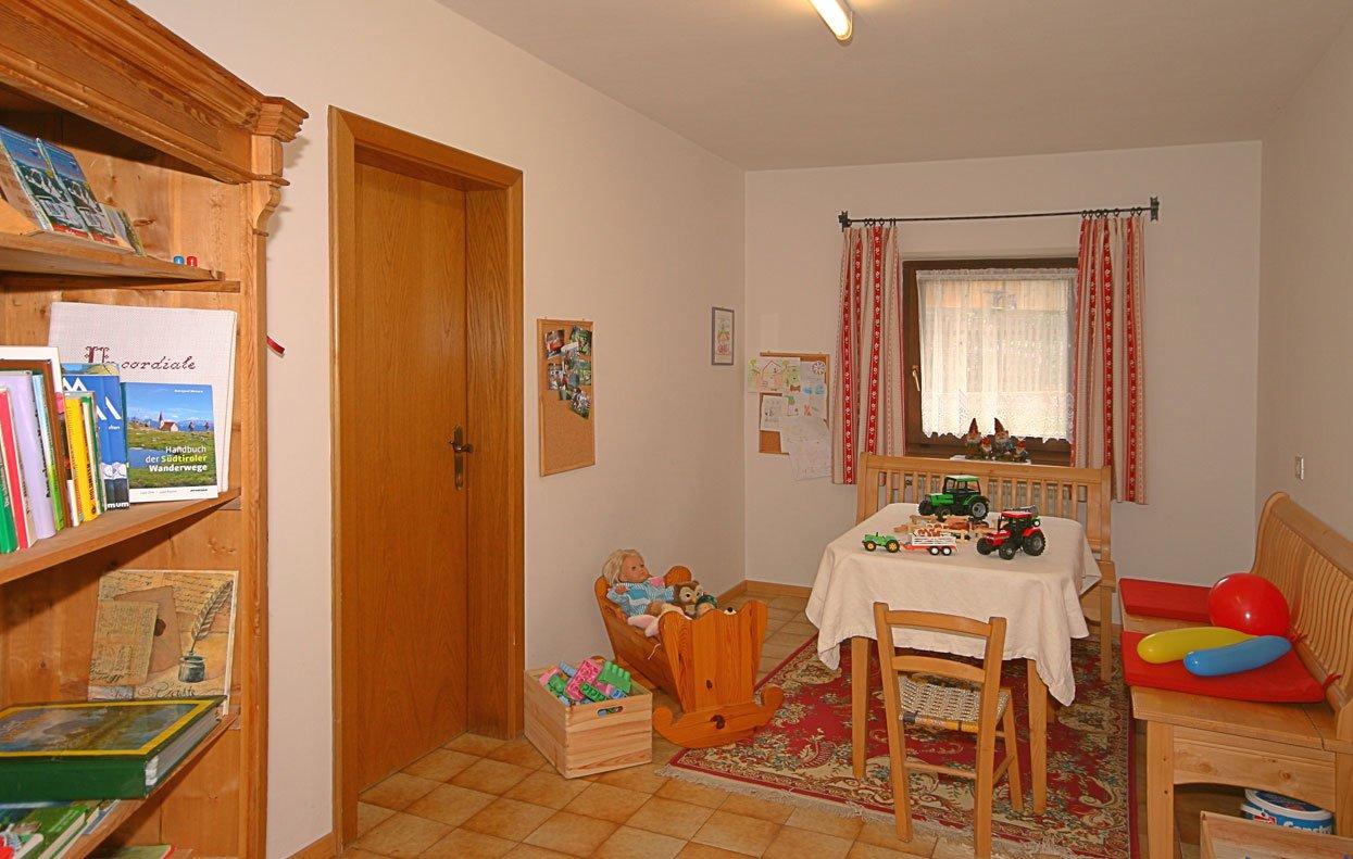 Un programma completo per rilassarsi nella nostra sala comune e dei bambini